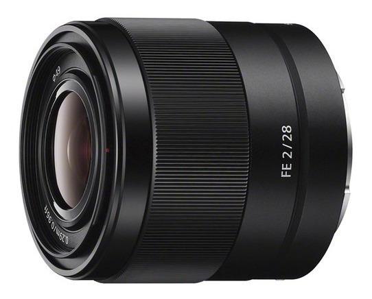 Lente Sony Fe 28mm F/2 - Sel28f20 - Loja Platinum