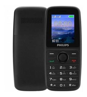 Celular Philips E108 Dual Rádio Fm/lanterna - Original