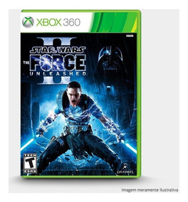 Star Wars The Force Unleashed Ii 2 Original Xbox 360 - Novo