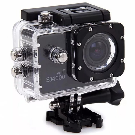 Camera Sjcam Sj4000 Wifi Original Hd 1080p Prova D