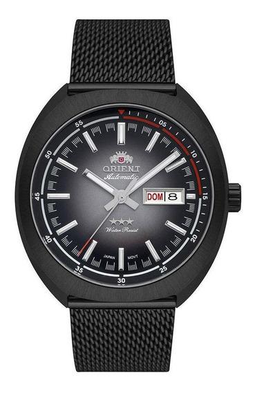 Relógio Orient Preto Automático Masculino 469bp082