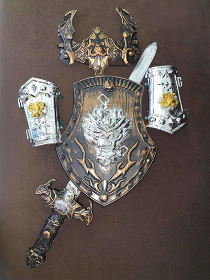 Traje De Guardia Romana Talla 12 Una Sola Vez Usado