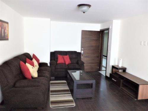 Apartamento Amueblado En Alquiler En El Corazon De La Zona 14 - Paa-041-08-14