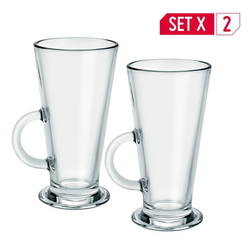 Mug Conic Milk X 2 Unidades