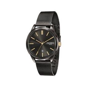 Relógio Mondaine Feminino Chumbo 83365gpmess3