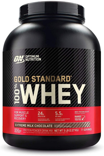 Optimum Nutrition Gold Standard 100% Whey 5 Lbs.