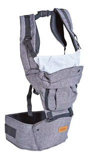 Mochila Porta Bebe By Bag Hipseat Kiddy Capucha 15kg Nueva!!