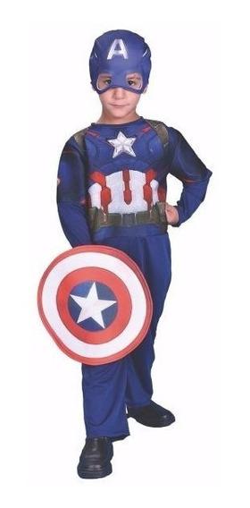 Disfraz Capitan America Disney Original Disfraces Juguevama