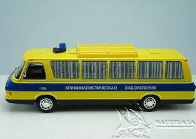 Lendas Russas Ônibus Zil 118 Polícia Lab Criminal #01 1:43