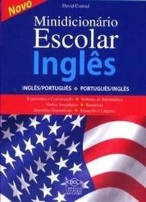Minidicionário Escolar Inglês - Inglês/português