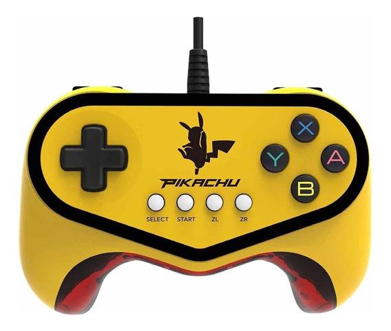 Controle joystick Hori Pokken Tournament Pro Pad Pikachu
