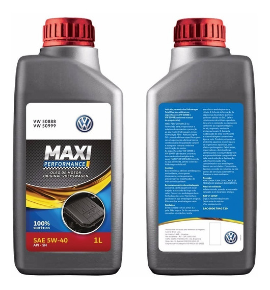 4 Oleo Castrol Max 5w40 508 88 Gol G5 G6 G7 Fox Polo