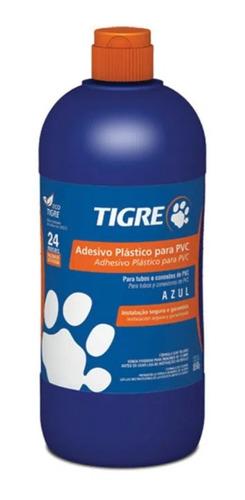 Adhesivo Pegamento Para Caños Pvc 850 Gramos Azul Tigre