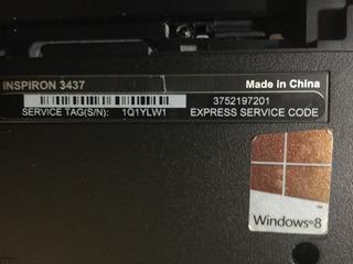 Dell Inspiron 14 3437 En Partes P/refacciones