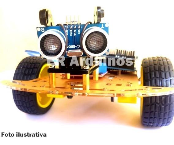 Kit Carro Montar Robotica Arduino Eletrôncia Projetos