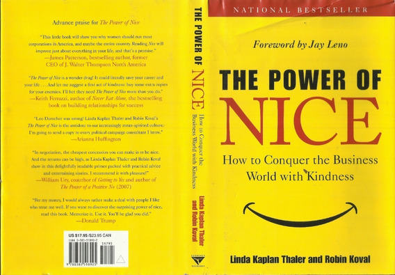 The Power Of Nice Foreword By Jay Leno Ano 2006