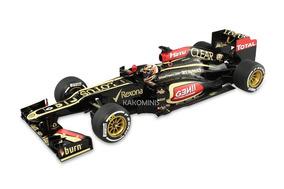 Miniatura F1 Kimi Raikkonen 2011 Lotus E21 1:18 Minichamps