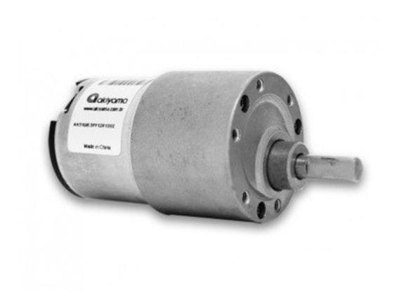 Micro Motor Dc C/ Cx Red. 12v 3rpm