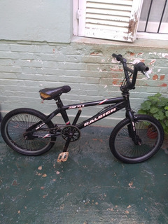 Bmx Rodado 20 Raleigh Freestyle Humo X3