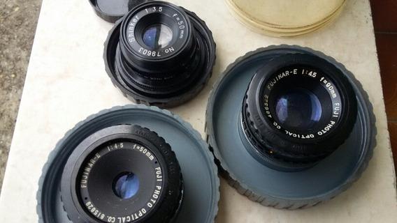 Lote De 3 Lente Fujinar -e L:45 F=90mm F
