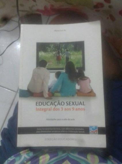 Livro Educação Sexual - Integral Dos 3 Aos 9 Anos - Atividad