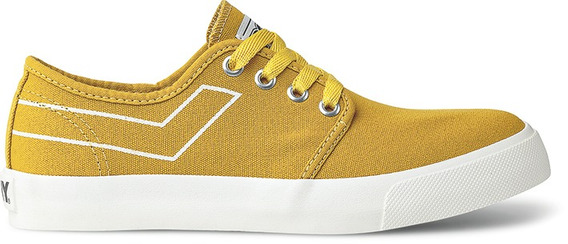 Zapatillas Pony West Ox Canvas Amarillo-po206011