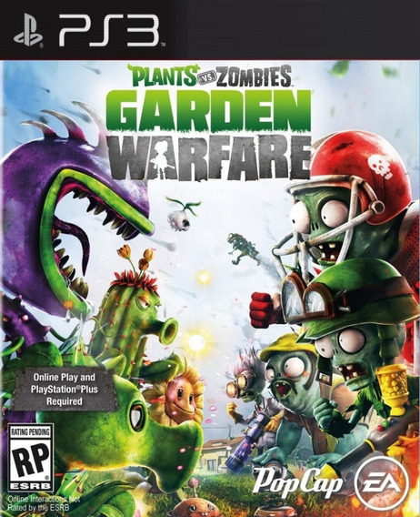 Plants Vs Zombie Ps3 Zumbies Pvz Portugues