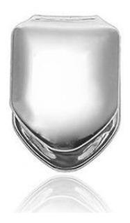 Grillz Dentes Modelo Prata Incisivo Lateral - Envio Imediato