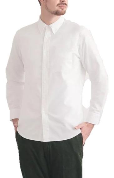 Camisa Manga Larga Fino Algodón Colección Uniqlo & Lemaire