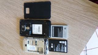 Celulares Samsung Galaxy S2 Lite E Lg E435 Retirada De Peças