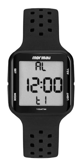 Relógio Mormaii Wave Digital Preto Mo6600/8p - Unissex