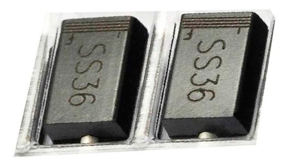 30 Diodo Sk36 Ss36 3a Original Sr360 30 Ss36 60v