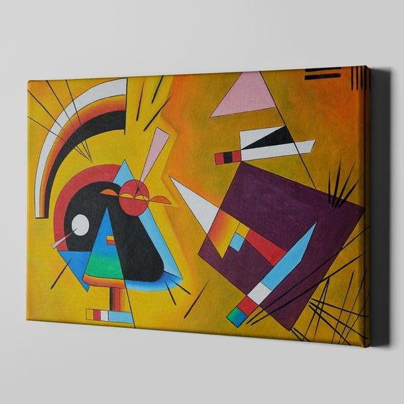 Cuadro Canvas Tela Lienzo 70x100 Mod 2 Kandinsky Fine Art