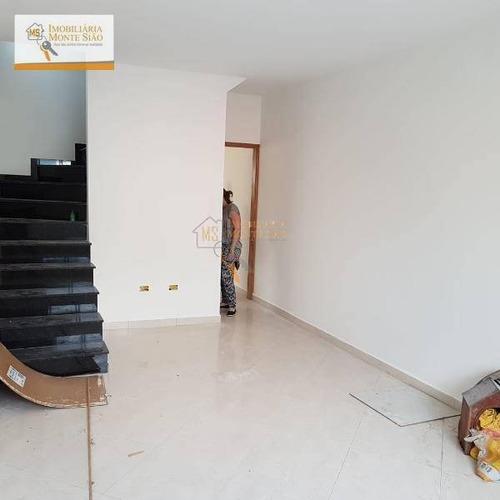 Sobrado Com 3 Dormitórios À Venda, 110 M² Por R$ 550.000,00 - Jardim São Francisco - Guarulhos/sp - So0171
