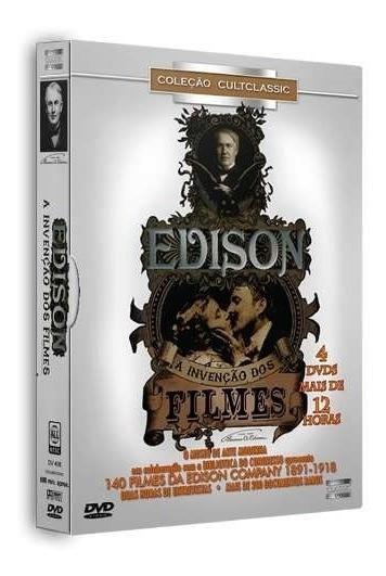 Box Dvd Edison - A Invenção Dos Filmes - Original Lacrado