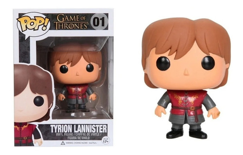 Funko Pop! Tyrion Lannister #06 Game Of Thrones