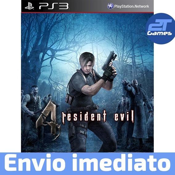 Resident Evil 4 Jogo Digital Ps3 Psn Envio Imediato