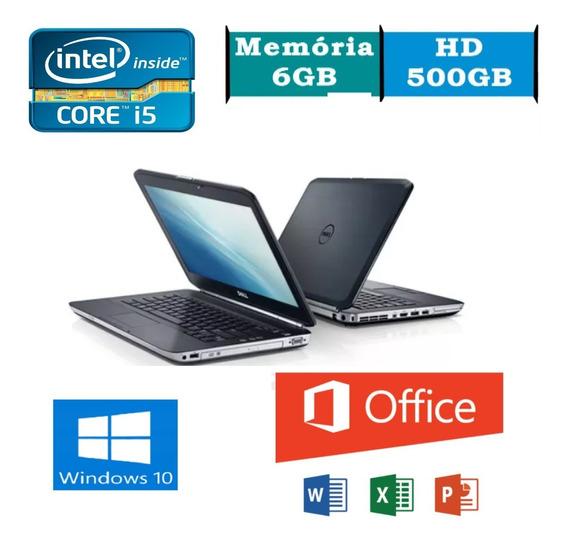 Notebook Dell Latitude E5420 I5 6gb Hd 500 (promoção)