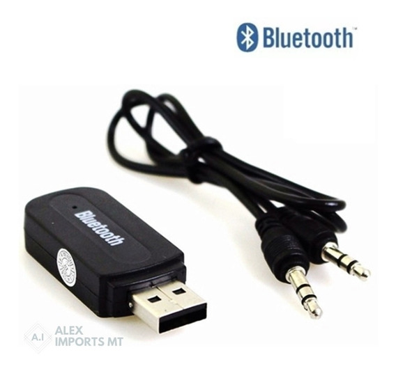 Receptor Usb P2 Bluetooth 10 Metros Áudio Estéreo Original