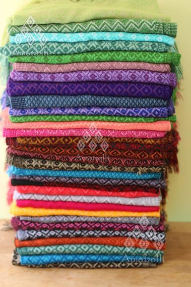 50 Rebozos Chales Pashminas Artesanales De Chiapas