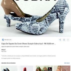 Capas De Sapatos Cover Shoes