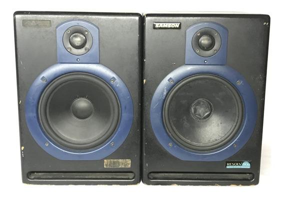 Par De Monitores De Audio Samson Resolv 80a | Frete Grátis