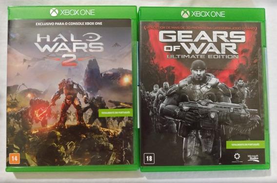 Jogos Midia Física One Gears E 1 Halo 2 Orginal