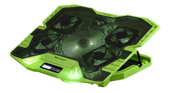 Master Cooler Gamer Verde Com Led - Ac292 Ac292 - Warrior