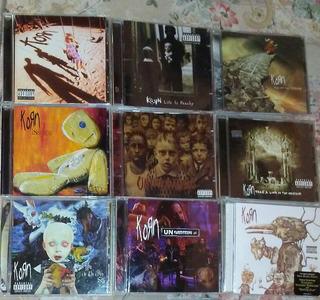 Coleccion Discografia De Korn
