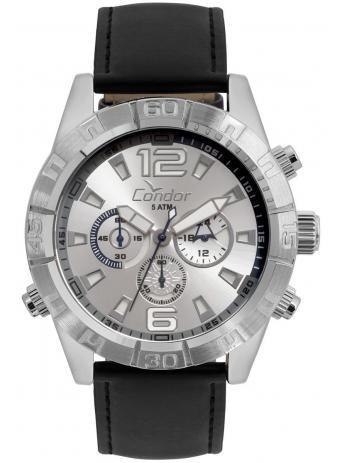Relógio Condor Cronógrafo Couro Masculino Covd54av/2k