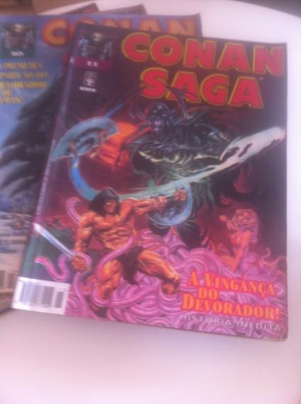 Coleção Conan Saga   Gibis-coleção: 02 - 17   1993-1997