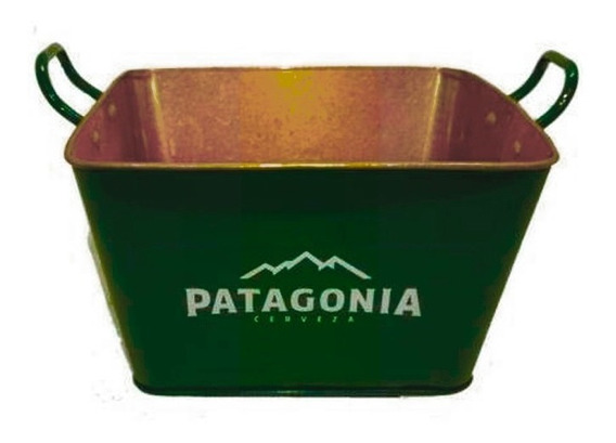 Balde De Zinco Patagonia Retangular