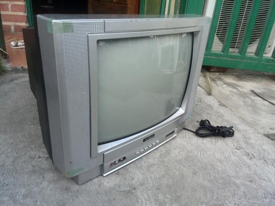 Tv Utech Convencional14 Falla De Linea Vertical Sin Control