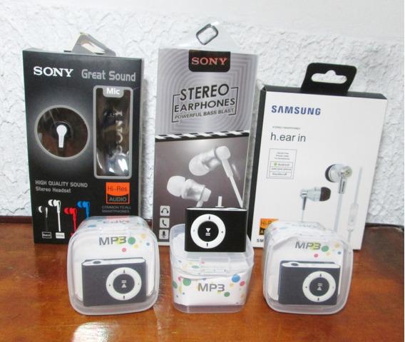 Reproductor Mp3 Shuffle + Audifonos - Tienda Virtual Guacara